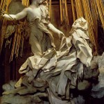 Bernini, The Ecstasy of St. Teresa, 1647-52, Cornaro Chapel, Rome, Italy.