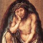 Durer, Christ as the Man of Sorrows, 1493