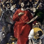 El Greco, El Espolio (or The Disrobing of Christ), 1577-79.