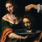 Luini, Salome with the Head of John the Baptist, date unknown.
