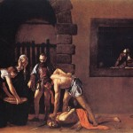 Caravaggio, Beheading of John the Baptist, 1608.