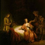 Rembrandt, Joseph Accused by Potiphar's Wife, 1655.