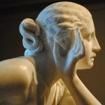 Randolph Rogers, Nydia, the Blind Girl of Pompeii, carved 1860. Photo: Amy Martin, 2011.