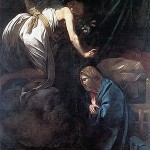 Caravaggio, The Annunciation, c. 1608