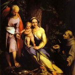 Correggio, Rest on the Flight to Egypt, 1520