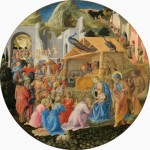 Fra Angelico & Fra Filipo Lippi, Adoration of the Magi, c. 1440-1460