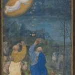 Master of the Houghton Miniatures, Annunciation to the Shepherds,  1470s-1480