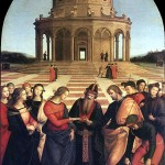 Raphael, The Marriage of the Virgin, 1504.