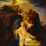 Watteau, Rest on the Flight to Egypt, 1719