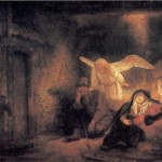 Rembrandt, Joseph's Dream in the Stable at Bethlehem, 1645