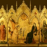 Simone Martini, Annunciation (Altarpiece), 1333