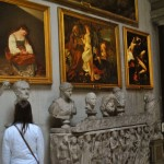 We had Caravaggio at the Doria Pamphilj all to ourselves!