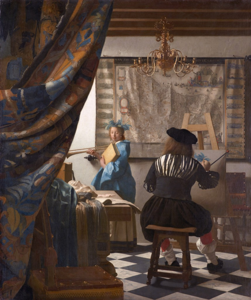 Johannes Vermeer, The Art of Painting (c. 1662-68), Kunsthistorisches Museum, Vienna.