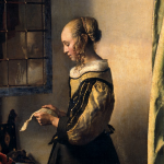 Johannes Vermeer, Girl Reading a Letter by an Open Window (c. 1659)