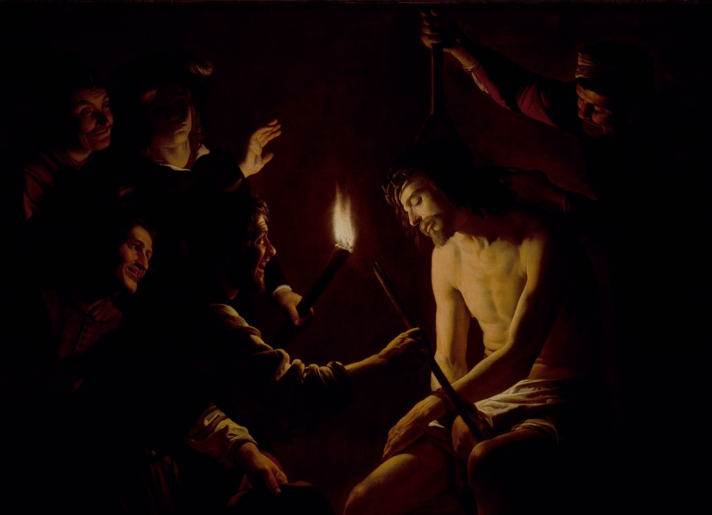 Gerrit van Honthorst, The Mocking of Christ (c. 1617-1620), LACMA.